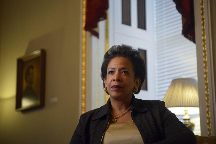 Loretta Lynch, the Attorney General of the United States.