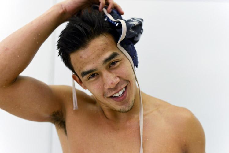 Brian Mojica, water polo player.