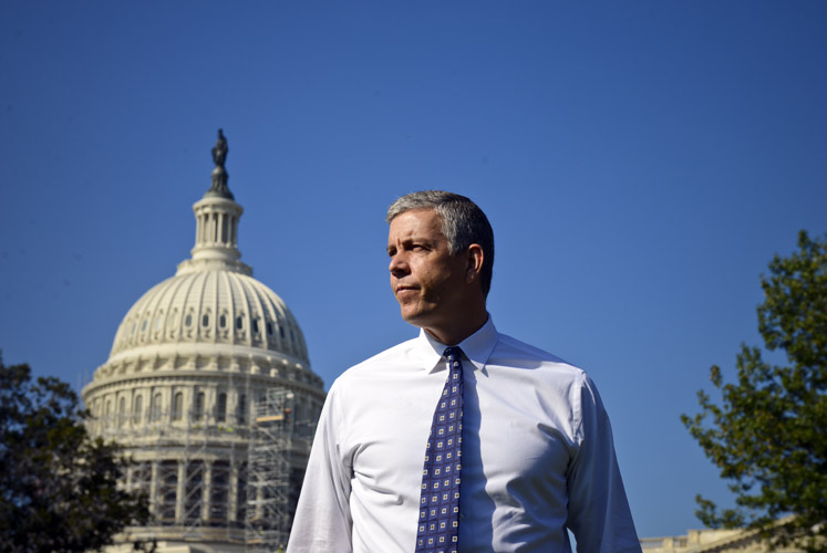 Arne Duncan, the Secretary of Education.