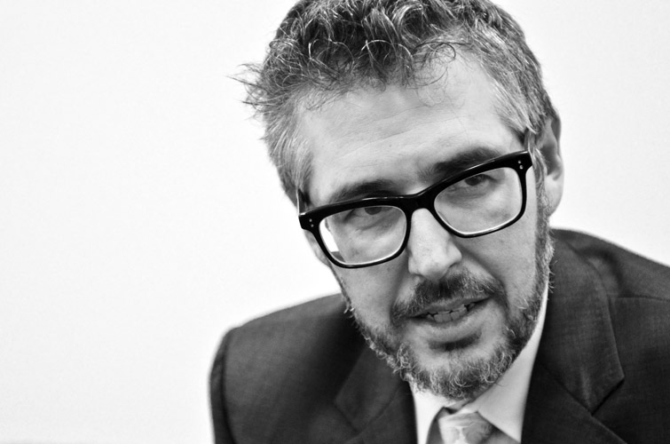 Ira Glass, radio personality.