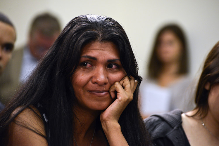 She was one of three children to testify that day, and much of their family sat in the back during the hearing. Many began to cry as they listened to the children recount the struggles they endured – much of it related to gang violence. Ultimately, many of the unaccompanied minors were reunited with family arrived living in the U.S. or provided shelter in the meantime.